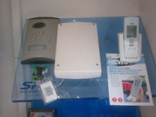 daitem wireless intercom with built in keypad for electric gate automation