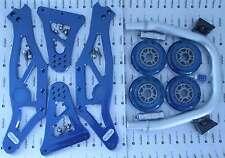 Alu Montageständer blau vorn alpha racing assembly stand front blue BMW S 1000RR