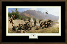 4th ID, 1st Battalion, 66th AR, Afghanistan, Matt Hall Art Print