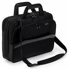 "Targus ECO Spruce 15.6"" Topload Black PREMIUM Laptop Bag Carry Case"