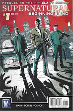 Supernatural Beginning's End  #1  March 2010  Regular Cover  DC / Wildstorm