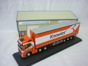 Oxford Diecast/Modern 1:76th Truck Volvo FH4 Curtainside Knowles 76VOL4003