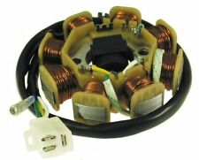 50cc DC STATOR 8-COIL (8 coil, 4-wire, 3-pin) for 50cc 4-stroke QMB139 engines)