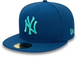 New York Yankees New Era 5950 League Essential Sky Blue Baseball Cap