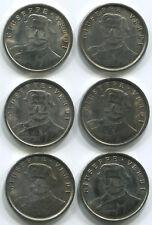 """TF166 Italy, Giuseppe Verdi, Teatro Alla Scala Milano, 6 medals tokens, 1.1"""""""