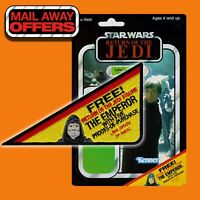 "Vintage style Kenner STAR WARS ""FREE! The EMPEROR"" MailAway Offer 6 x 3.5"" patch"