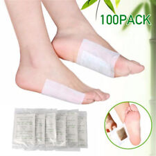 100 PCS Detox Foot Pads Patch Detoxify Toxins Fit Health Care Detox Pad US Stock