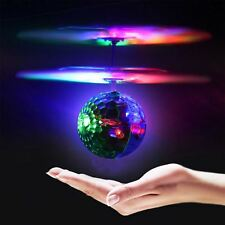 Flying Ball Flashing RC Helicopter LED Toys Boys Girls Christmas Gifts Sensor