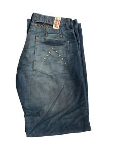 Jean Men's Boot Cut Cord Sizes waist 30 to 36 Hunch Denim