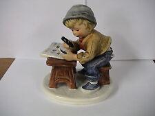 "Goebel 1978 Today's Children #10 704 ""Stamp Collector"" perfect"