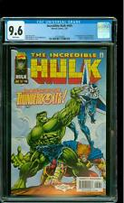 Incredible Hulk 449 CGC 9.6 NM+ 1st Thunderbolts Mike Deodato Jr Cover Marvel