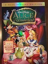 Alice in Wonderland DVD 2-Disc Set Un-Anniversary Special Edition NEW +Slipcover