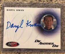 Daryl Kwan Autograph 007 James Bond Die Another Day Card Rittenhouse Gen Han 2