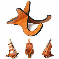 Wooden Stand Bracket Holder Shelf Mount Ukulele Violin Mandolin Rack