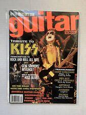 VINTAGE - KISS Magazine - Guitar School July 1992