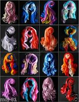 New Pretty Colorful Long Soft Women Girls Fashion Chiffon Scarf Wrap Shawl Stole