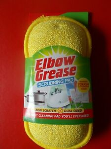 ELBOW GREASE SCRUBBING PAD - REMOVES TOUGH & STUBBORN STAINS