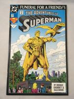 Adventures of Superman #499 DC Comics Funeral for a Friend Death of Superman NM