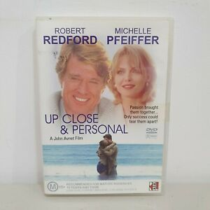Up Close And Personal DVD Region 4, Robert Redford, Michelle Pfeiffer, RARE oop