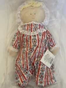 Infant Doll Produced By Vermont Country Store Under License Of Lanz Of Salzburg!