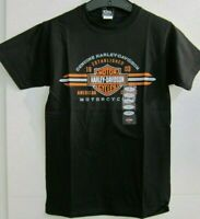 Harley-Davidson Shirt Tshirt schwarz NEU! Ladies Gr. L  + Men loose fit Gr. S
