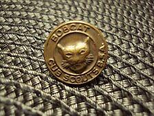 Vtg CUB SCOUT BSA Bobcat Boy Scouts of America Cap Hat Uniform Pin Badge Medal