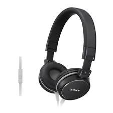 Sony MDR-ZX610AP faltbarer On-Ear Kopfbügel Kopfhörer 10hz - 24khz Reichweite-schwarz