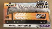 MATCHBOX - MBX - SUPER CONVOY - SEMI TRUCK & CARGO COURIER TRAILER - DIECAST