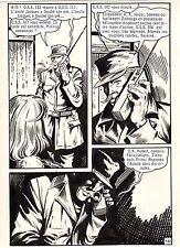 OSS 117 LE CHIMPANZEE QUI PARLE (BRUCE/SANCHEZ) PLANCHE ORIGINALE PAGE 147