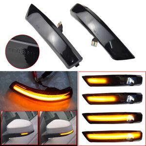 Dynamic LED Side Mirror Turn Signal Light Indicator For Ford Mk2 MK3 Mondeo Mk4