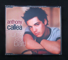 Anthony Callea - Hurts So Bad - CD Single - Australia - 4 Tracks