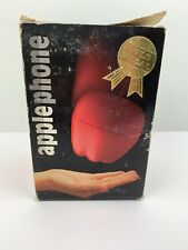 NEW 1985 Original Apple Phone Novelty Corded Push Button Telephone RARE