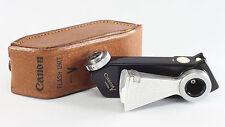 Canon Flash Unit Model V with original leather case for Canon V Series