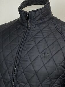 Fred Perry   Quilted Jacket Medium (Black) Mod Scooter Terraces 60s Casuals