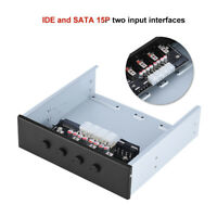 SATA IDE Power Control Switch 4way Hard Drive HDD Power Selector Module for PC