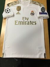548418c6 adidas Real Madrid Home Jersey 2019/20 White and Gold Stadium Cut Size XL  Only
