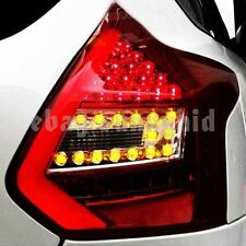 2012-2014 Year For FORD Focus 3 Hatchback LED Strip Tail Lights Rear Lamps Red