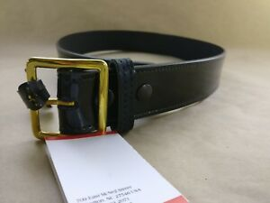 Gould & Goodrich H52-48CL Hi-Gloss Brass Pants Belt 1 3/4 fits 30-Inch Waist