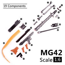 """1:6 1/6 Scale Assemble Toy Gun Mg42 Fit 12"""" Action Figures Mg Gundam Toy Model"""