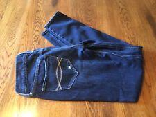 Abercrombie & Fitch Perfect Stretch Zip Bottom Jeans Women's Size 00 W24