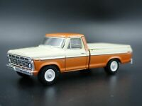 1973 73 FORD F100 RANGER LONG BED TRUCK W HITCH 1/64 SCALE DIECAST MODEL CAR
