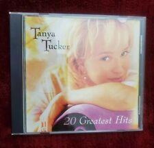 20 Greatest Hits by Tanya Tucker (CD, Sep-2000, 2 Discs, Capitol)