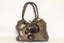 Relic Silver Faux Snakeskin Shoulder Bag Purse