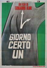 manifesto 4F originale UN CERTO GIORNO Ermanno Olmi 1968