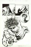 Turok Empty Souls #1 page 18 Original Art Valiant Acclaim VH2 1997
