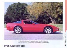 1995 Chevrolet Corvette ZR1 ZUF LT5 info/specs/photo/prices production 11x8