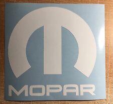 Mopar Vinyl Decal Sticker Graphic Logo Dodge Jeep Ram Chrysler Car Bumper Window
