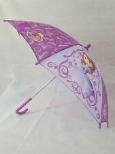 Disneys Sofia The First Kids Princess Purple Umbrella Rainy Weather Gift