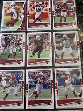 ARIZONA ST LOUIS CARDINALS LOT OF 284 FOOTBALL CARDS TOPPS,SCORE,FLEER PANINI,