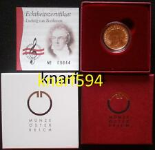 50 € Gold von 2005, Österreich,Ludwig van Beethoven